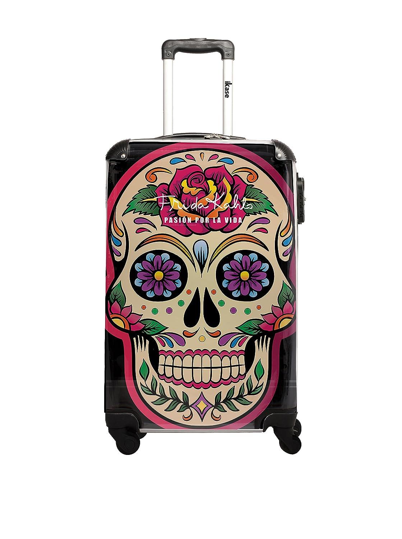 Frida Kahlo Trolley Frida Kahlo Negro 55 cm: Amazon.es: Equipaje