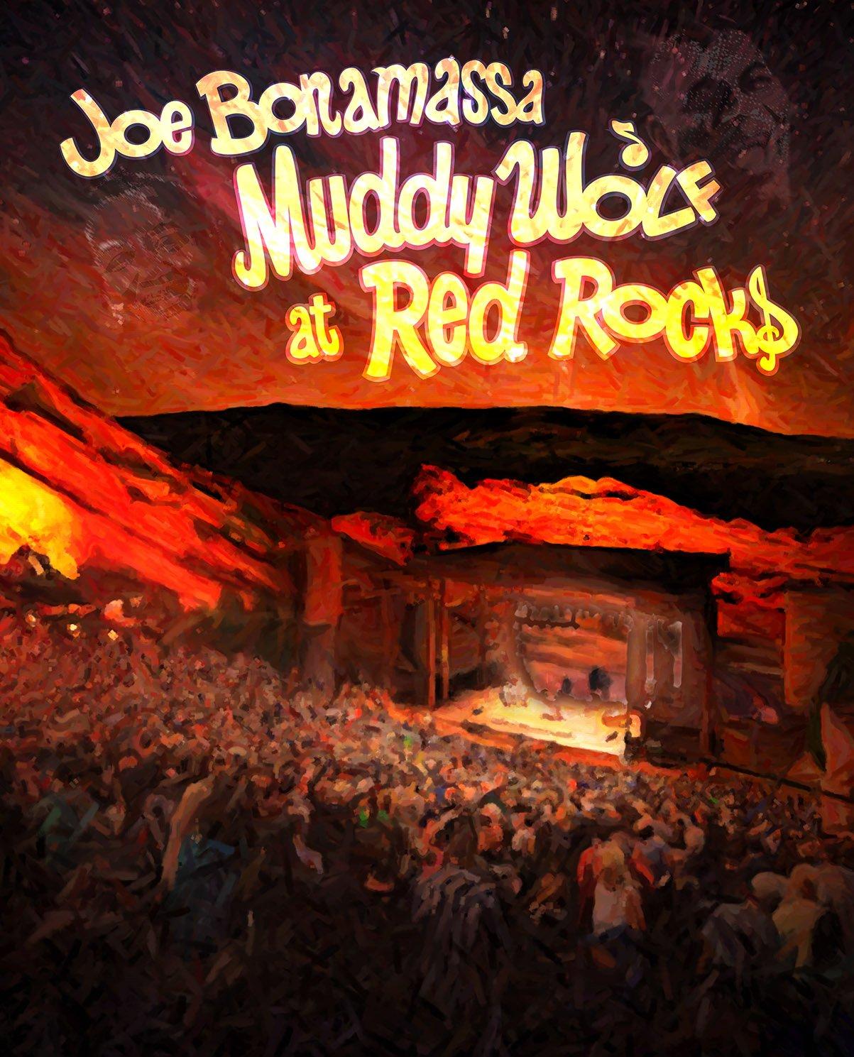 DVD : Joe Bonamassa - Muddy Wolf at Red Rocks (2 Disc)