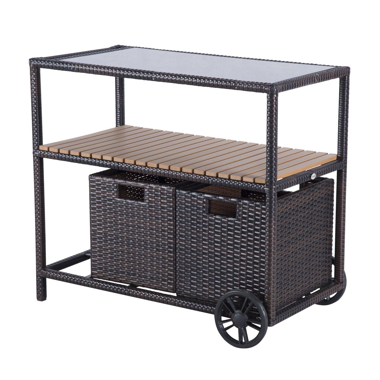 Fabulous chariot de cuisine jardin meuble rangement for Chambre xxl nimes