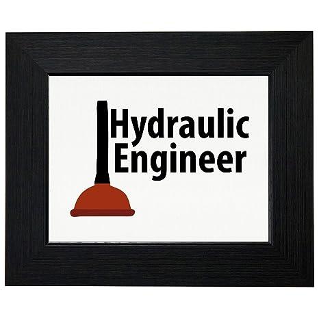 ingegnere idraulico con pistone WC Graphic con stampa artistica ...