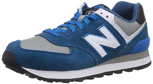 New Balance 574 Zapatillas unisex, Azul (deep blue), 37 EU
