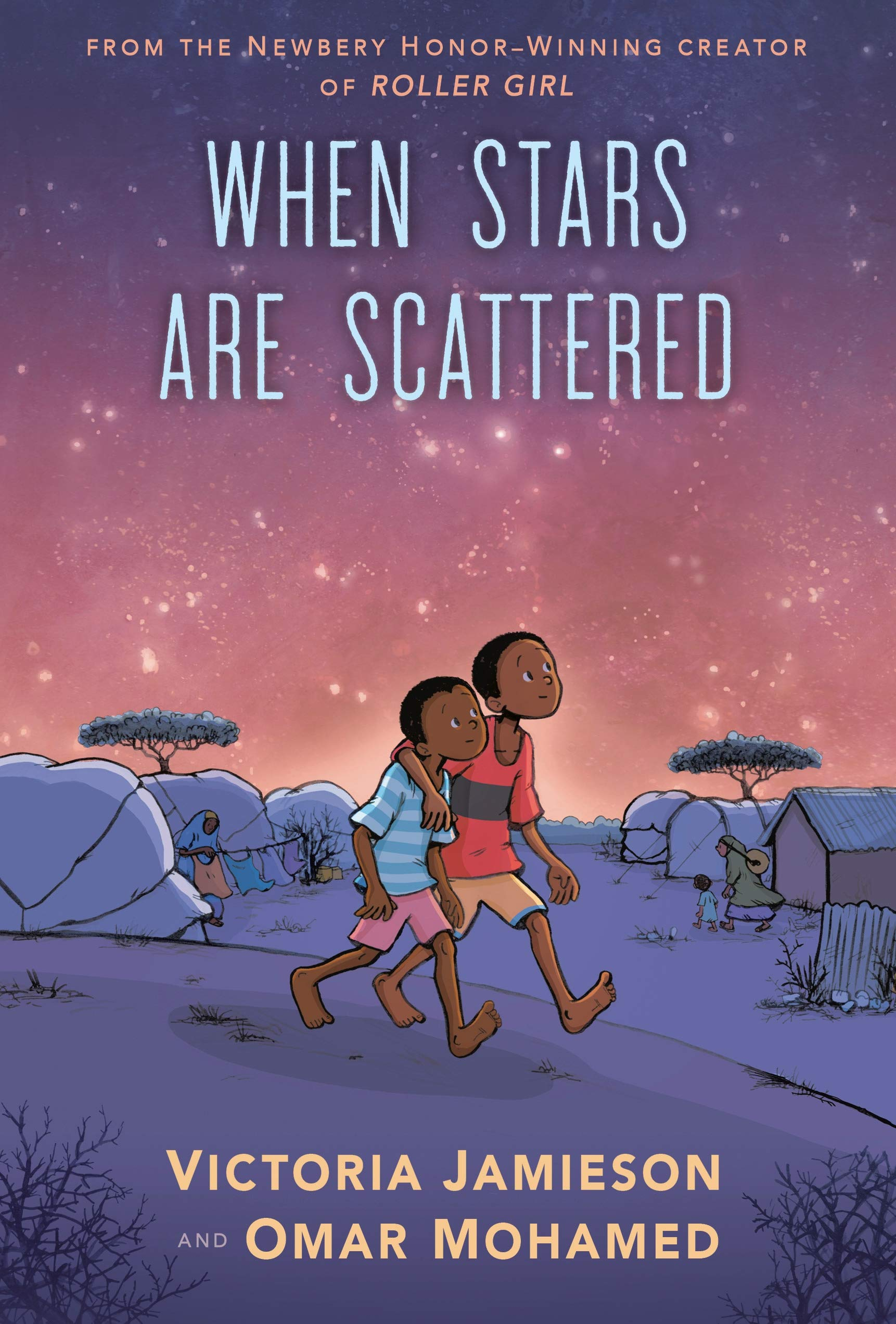 When Stars Are Scattered: Amazon.co.uk: Victoria Jamieson: Books