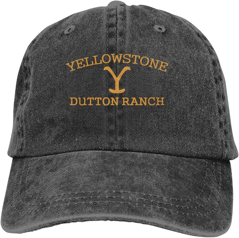 Dekeyue Fashion Yellowstone-Dutton-Ranch Unisex Cowboy Cap Trucker Hat