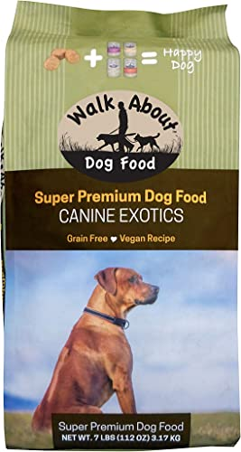 Walk About Pet, Super Premium Canine Exotics Dog Food