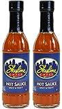 Skyline Chili Hot Sauce, 6 Fl Oz (177mL) Glass Bottle (Pack of 2)