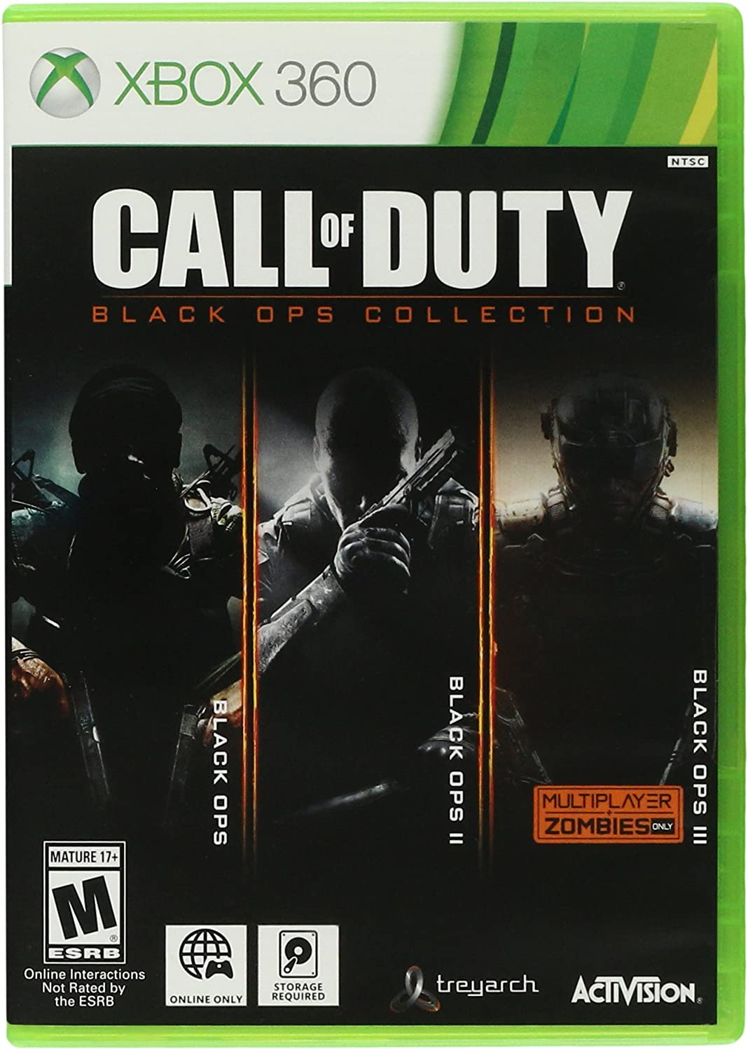 Amazon com: Call of Duty Black Ops Collection - Xbox 360