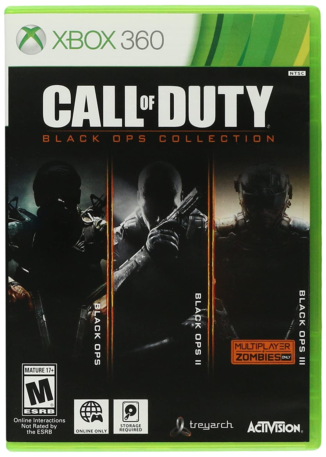 Amazon Com Call Of Duty Black Ops Collection Xbox 360 Standard