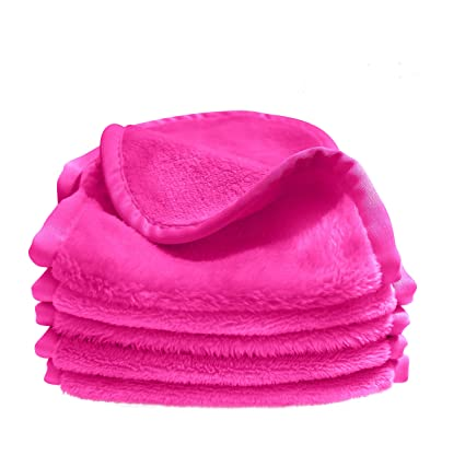 Amazon.com: Bay Comfort 5-Pack Microfiber Facial Towels, Washcloths for Face, Great for Removing Makeup, Ultra Soft for Squeaky Clean and Tight Pores.