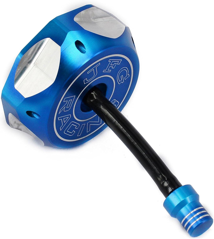 JFG Racing CNC Tapa para dep/ósito de Gas con Manguera de ventilaci/ón para XR//CRF 50 Estilo y Clone China Dirt Pit Bike