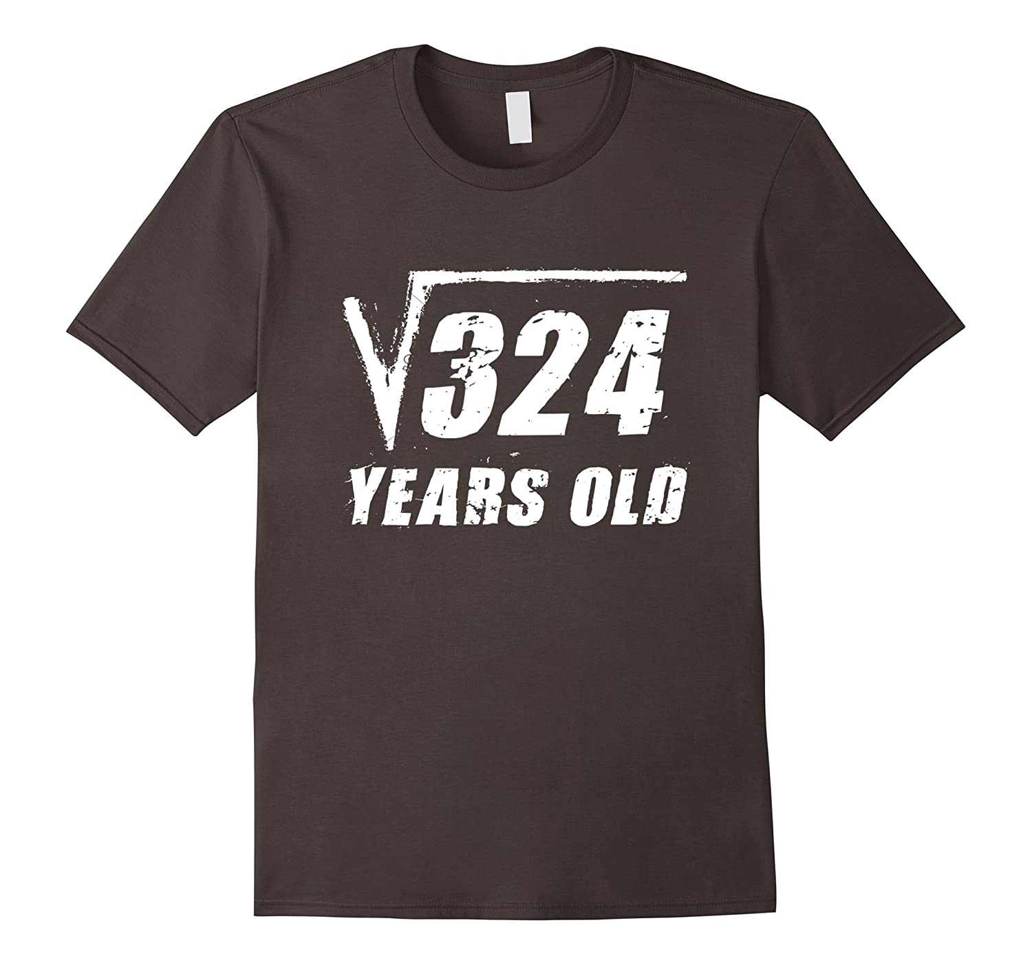 18 Year Old Square Root T Shirt Funny Birthday Gift Boy Girl ANZ