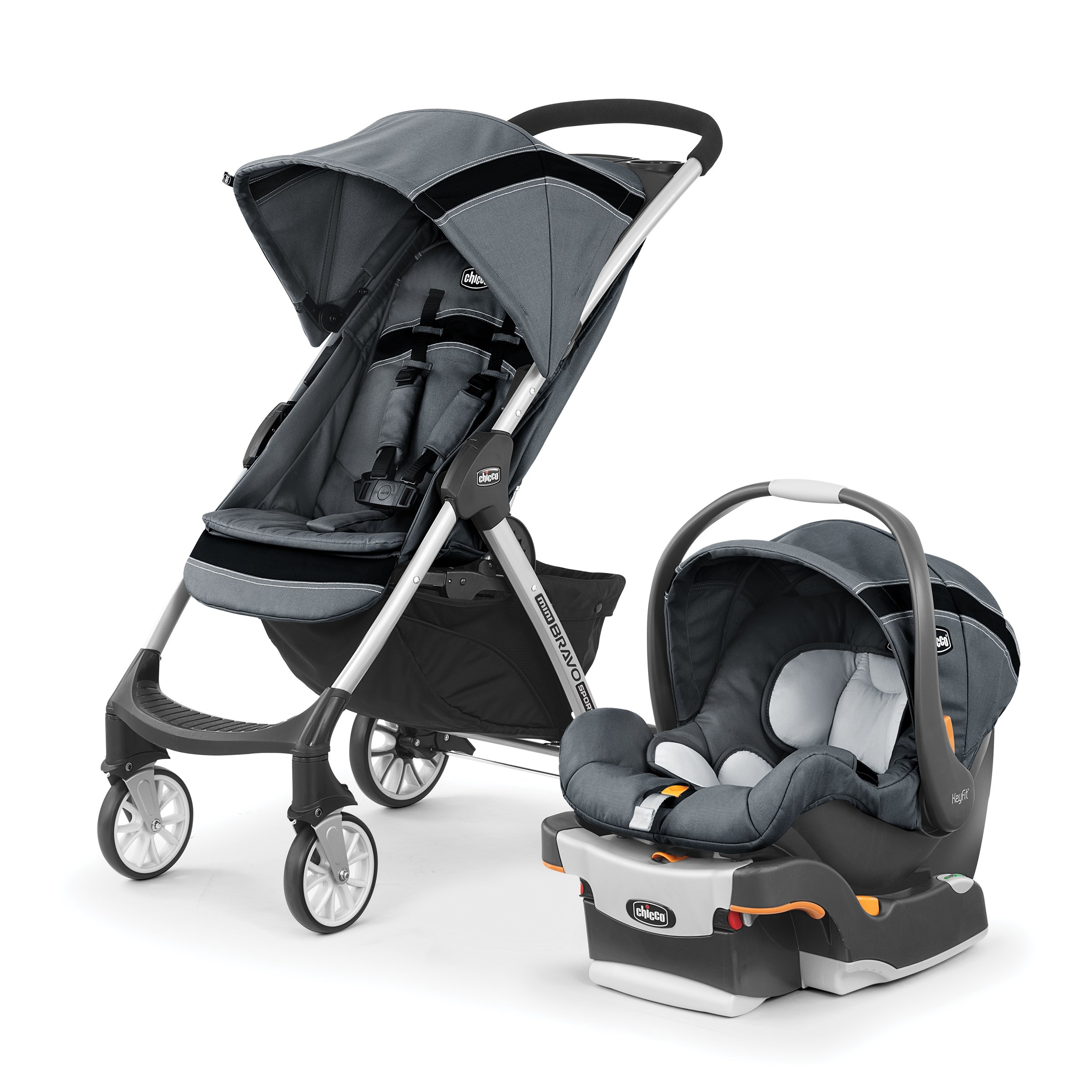 Chicco Mini Bravo Sport Travel System, Carbon by Chicco