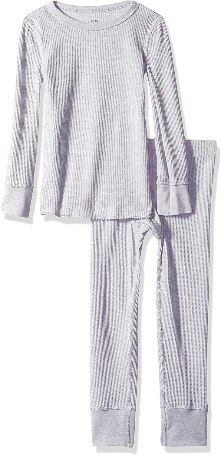 Fruit of the Loom Boys Soft Waffle Thermal Underwear Set