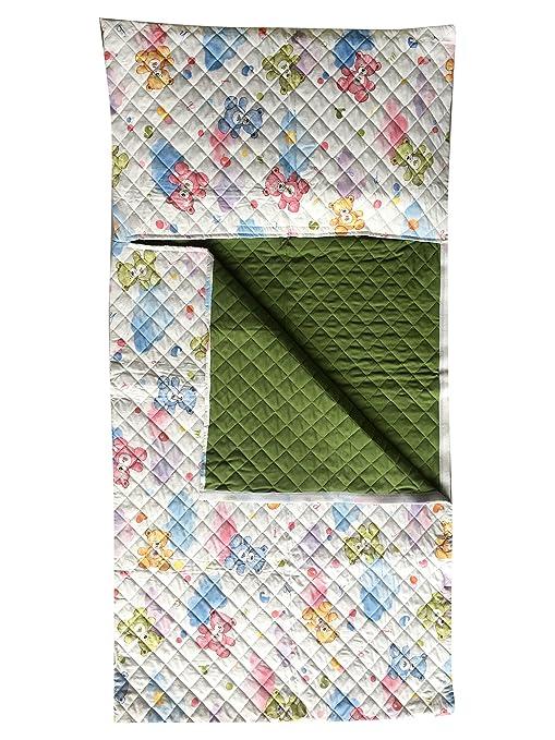 Saco de dormir para parvulario, para niños y niñas. Disponible en varios diseños y colores.