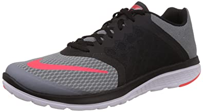 save off c4f9e 315a1 Nike FS Lite Run 3, Chaussures de Running Entrainement Homme,  Multicolore-Gris