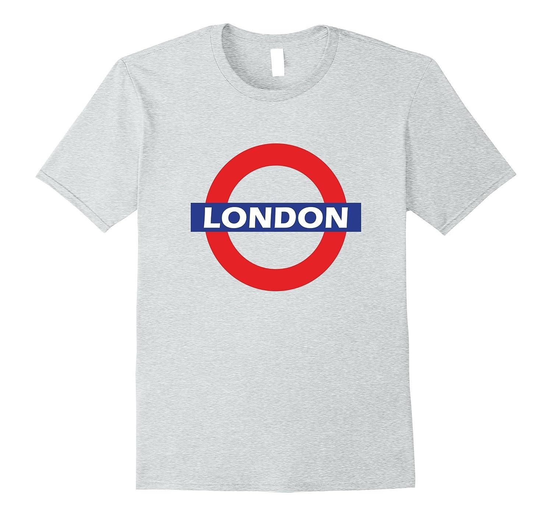 NEW London T-Shirt Underground Subway Metro Tube shirt-CD