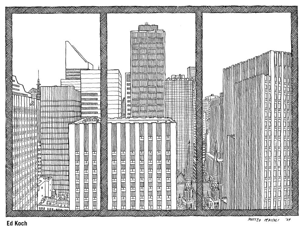 The City Out My Window 63 Views on New York Matteo Pericoli Paul Goldberger 9781416569909 Amazon.com Books  sc 1 st  Amazon.com : window drawing - pezcame.com