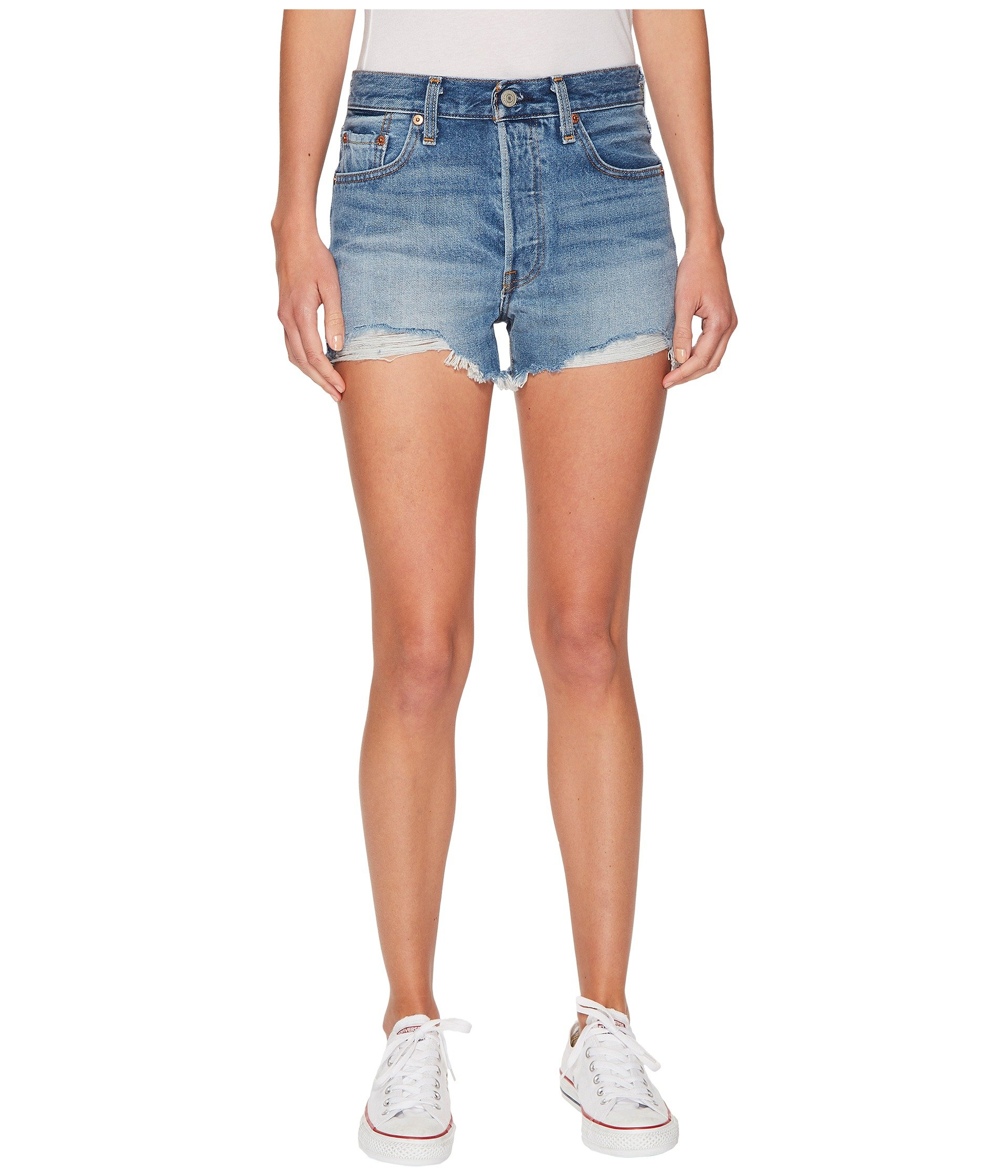 Levi's Women's 501 High Rise Shorts, Bring to Light, 32 (US 14)