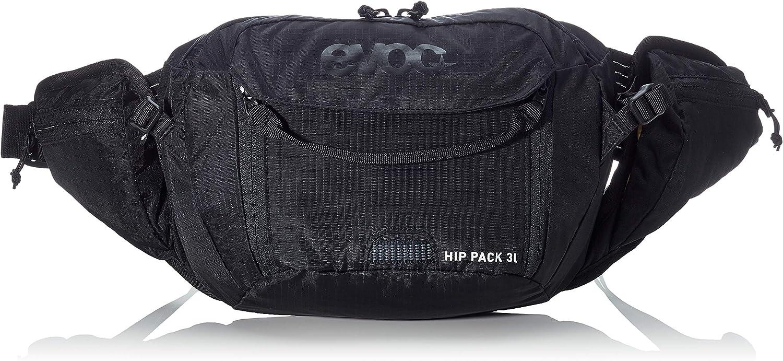 evoc Hip Pack 3l Packs, Unisex Adulto, Negro, Talla única: Amazon ...