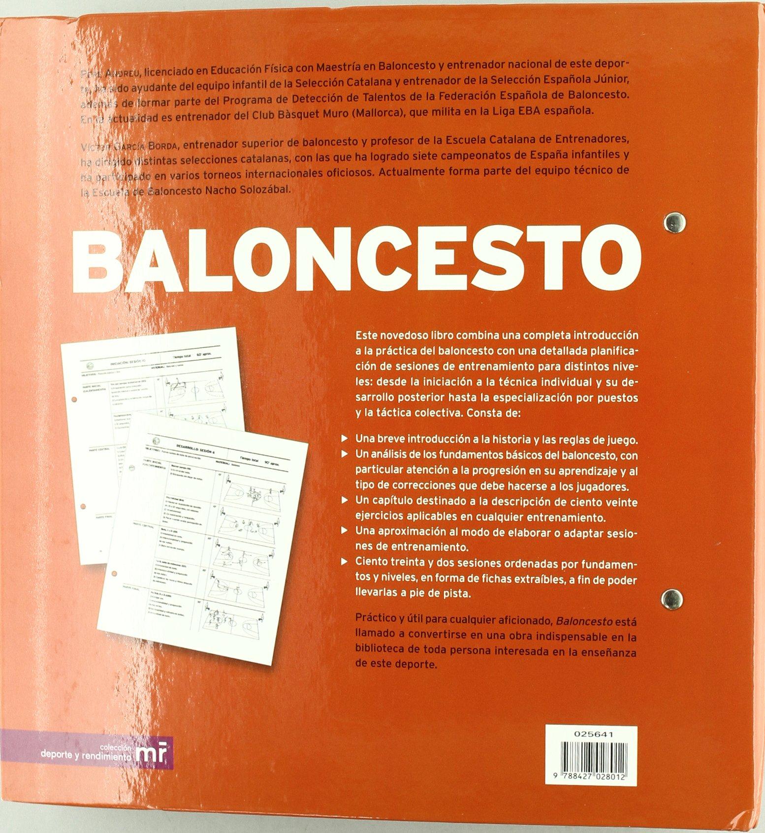 Amazon.com: Baloncesto (Spanish Edition) (9788427028012 ...