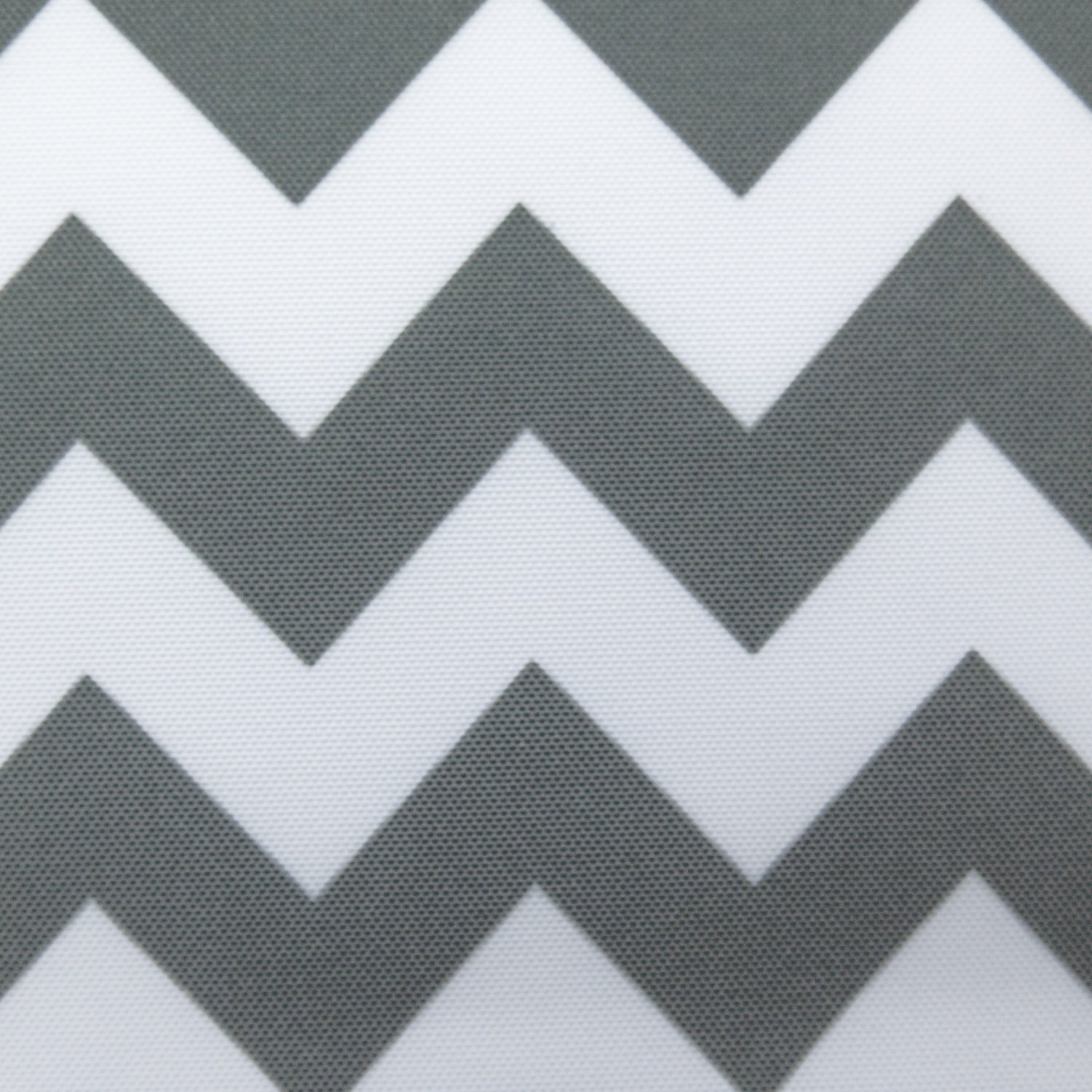 Waterproof Outdoor Chevron Canvas Grey/White 60 inch Fabric by The Yard (F.E.)