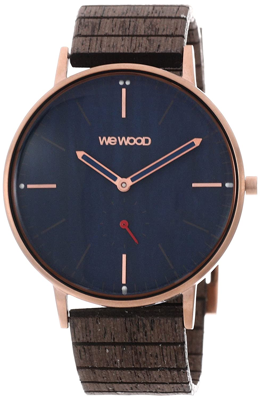 [ウィウッド]WEWOOD 腕時計 ウッド/木製 チタン ALBACORE ROSE GOLD BLUE 9818168 メンズ 【正規輸入品】 B075V2H1ZT
