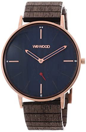 Analog Mit Quarz Smart Armbanduhr Holz Watch Armband Wewood Herren iuXZOPk