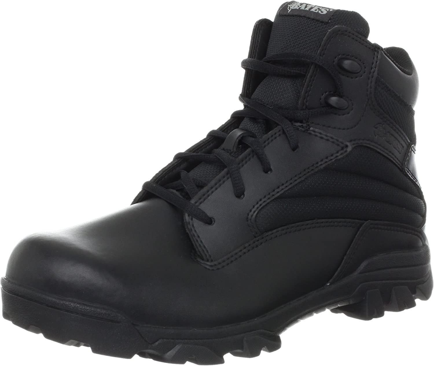 Bates Men's ZR-6 BLK 6 Leather Inch Nylon All items Financial sales sale in the store Uniform Boot