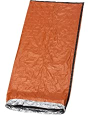 Premium Emergency Bivvy Bag - Survival Sleeping Bag, Emergency Blanket, Bushcraft - Thermal Insulation, Tear-Resistant Polyethylene - High Visibility, Portable, Weatherproof| Outdoor Camping Hiking