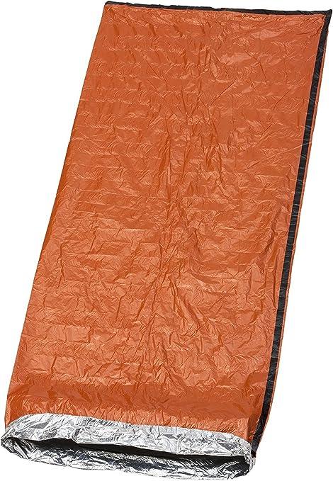 Sac de Couchage de Survie,Type /Épais Couverture de Survie Durgence,Sac de Survie Bivvy,Isolation Thermique,R/ésistant /à La D/échirure,Haute Visibilit/é,R/éutilisable pour la Randonn/ée Camping Plein Air