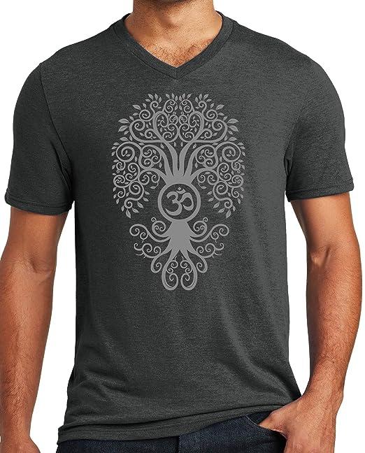 Amazon.com: Camiseta para hombre con cuello en V de triple ...