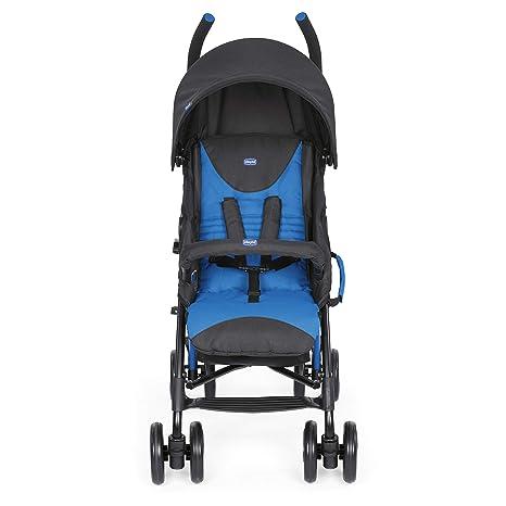 Chicco Echo Silla de paseo, ligera y compacta, soporta hasta 22 kg, color azul (Mr Blue)