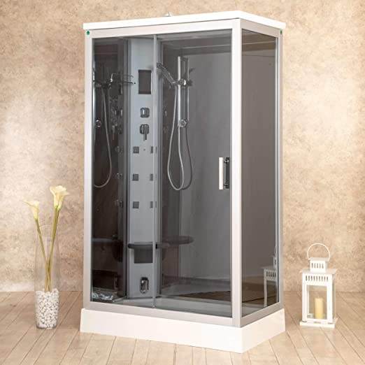 Box ducha hidromasaje Sauna Baño Turco y ozonoterapia entrada a ...