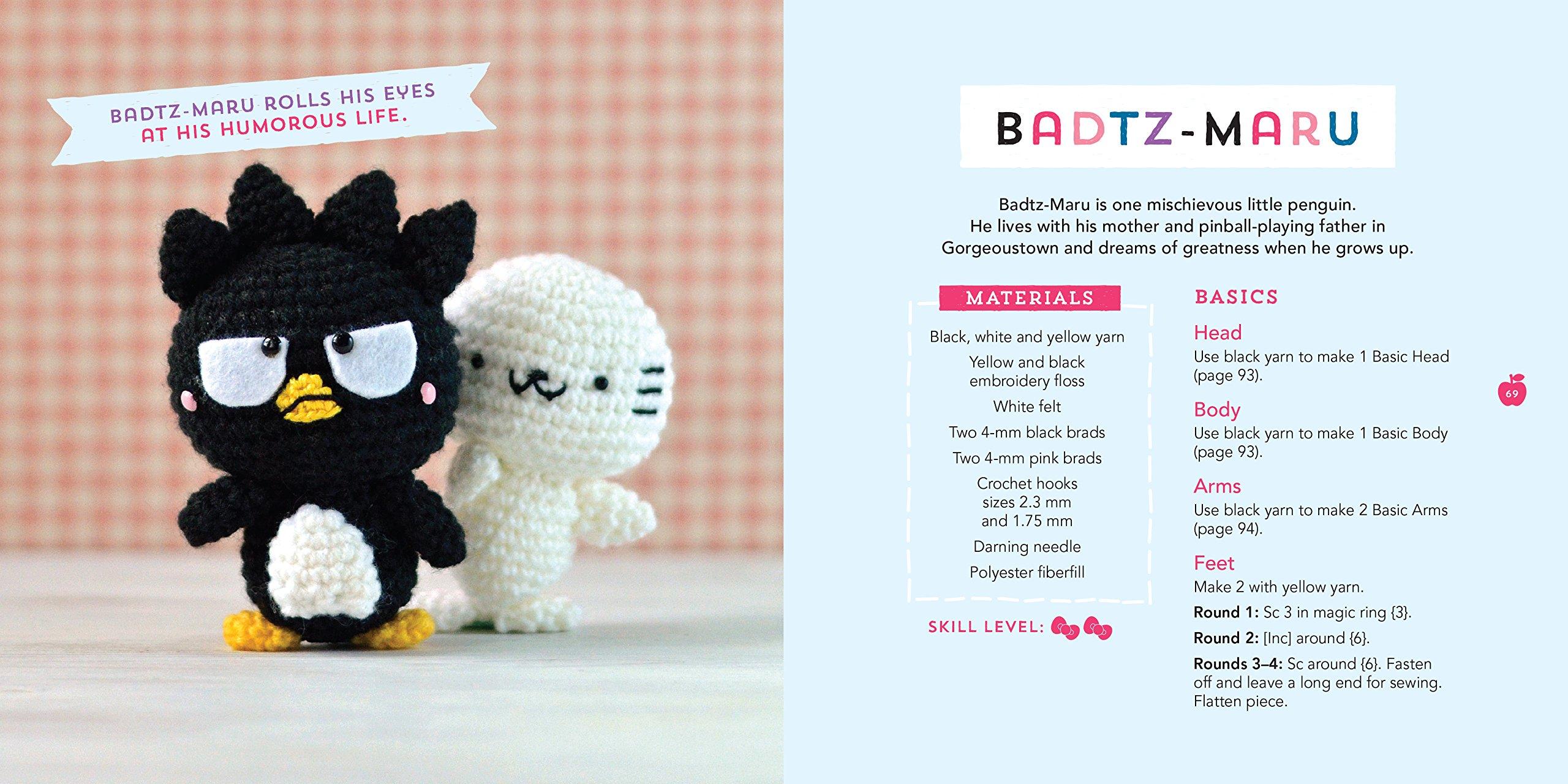 Little Hello Kitty Amigurumi, English Pattern | Hello kitty ... | 1280x2560