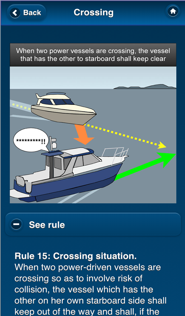 Amazon Com Colregs Rules Of The Road For All Seagoing