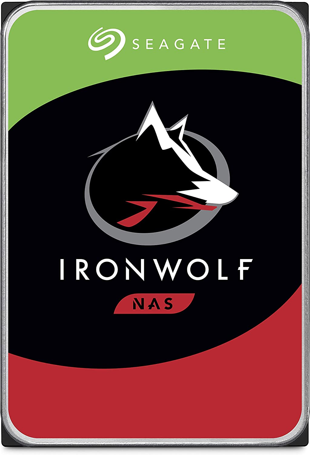 Seagate IronWolf 6TB NAS Internal Hard Drive HDD – 3.5 Inch SATA 6Gb/s 7200 RPM 256MB Cache for RAID Network Attached Storage (ST6000VN0033)