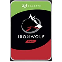 """Seagate 14 TB IronWolf Pro Disque dur interne 3.5"""" pour NAS 1-24 Bay (7200 RPM, 256 MB Cache, 300 TB/year Workload Rating, Up to 214 MB/s, Model: ST14000NEZ008/NE0008)"""