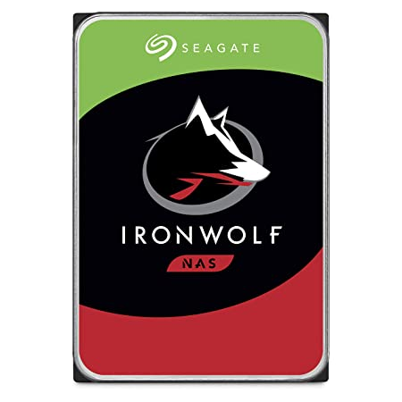 Seagate Iron Wolf 6 Tb Nas Internal Hard Drive Hdd – 3.5 Inch Sata 6 Gb/S 7200 Rpm 256 Mb Cache For Raid Network Attached Storage (St6000 Vn0033) by Seagate