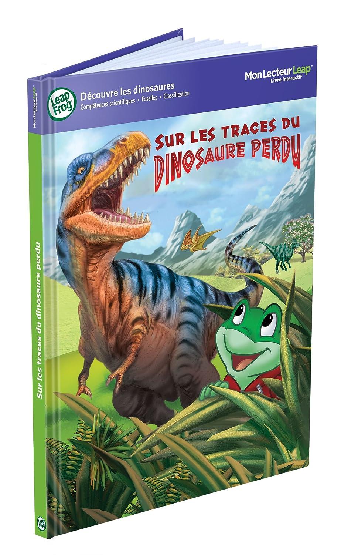 Leapfrog - 82217 - Jeu éducatif - Livre Mon Lecteur Leap/Tag - Sur les Traces du Dinosaure Perdu 82176