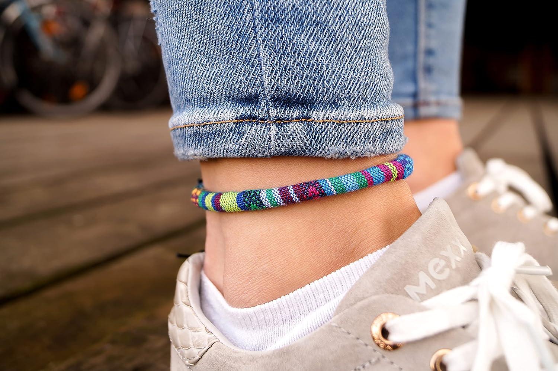 Surfer Anklet Hippie Anklet Turquoise Anklet Beach Anklet Boho Anklet Summer Anklet Unisex Anklet