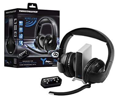 Thrustmaster Y- 400P Wireless Gaming Headset for (PS4/PS3/PC