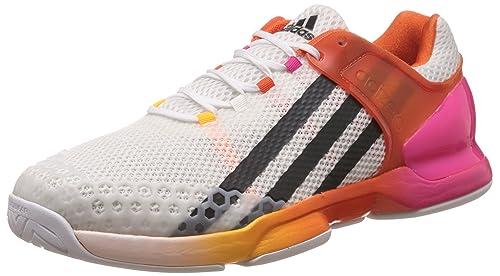 online store 411fc f1e75 adidas Adizero Ubersonic, Zapatillas de Tenis para Hombre,  BlancoNegroNaranja (FtwblaGrioscRosimp), 46 23 EU Amazon.es Zapatos  y complementos