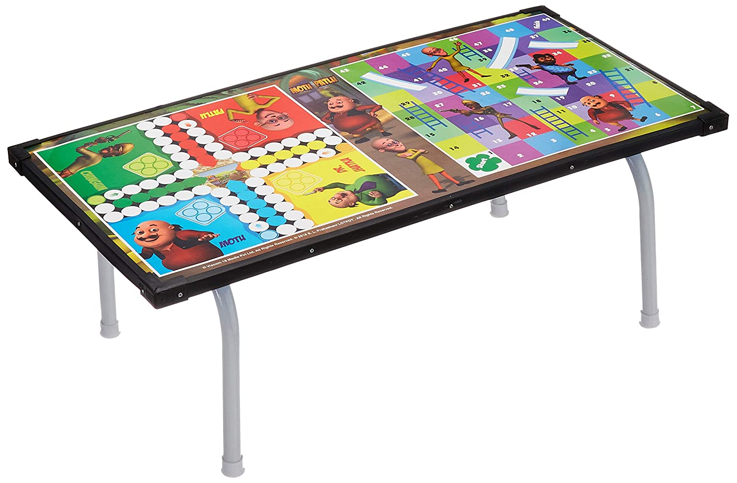 Motu Patlu Multipurpose Wooden Gaming Foldable Table