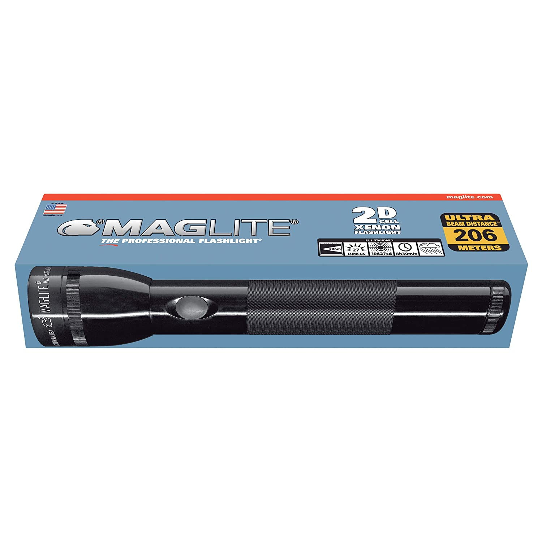 Mag-Lite 2D Linterna Negro