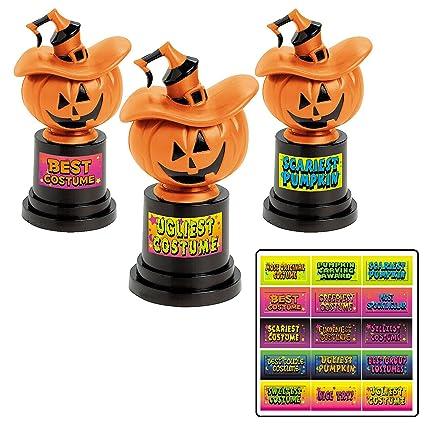 Amazon.com: Trofeos para concurso de disfraces de Halloween ...