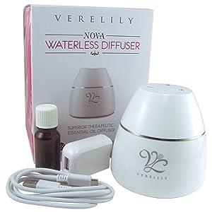 Verelily NOVA Nebulizer Wireless Waterless Diffuser width=