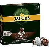 Jacobs Espresso 咖啡膠囊 強度10 Nespresso?*兼容咖啡膠囊 10x20個膠囊