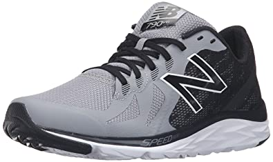 New Balance Men's 790v6 Speed Ride Running Shoe, Steel/Black, ...