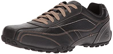 Skechers USA Men's Citywalk Elison Oxford,Black,6.5 ...