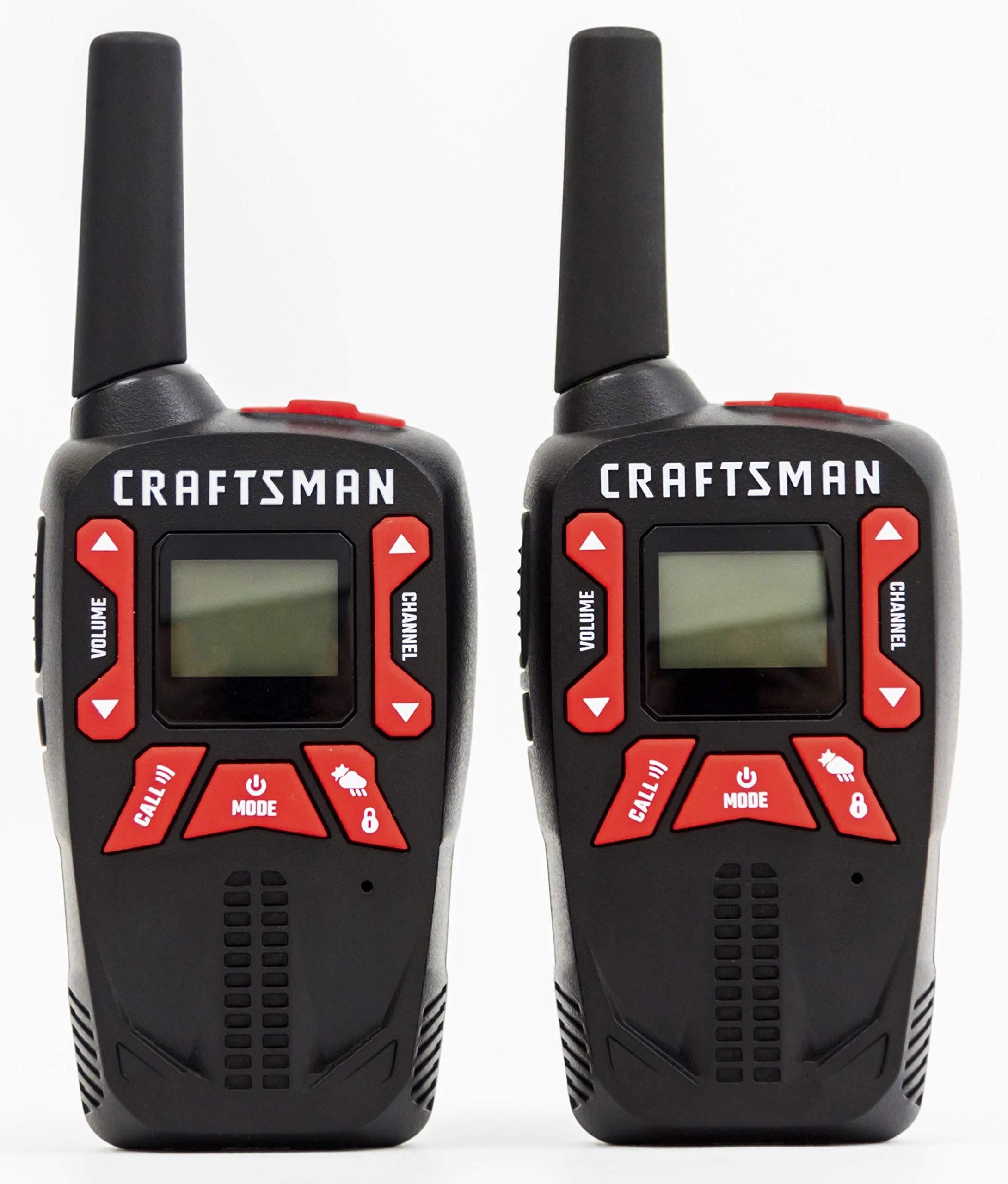 Craftsman CMXZRAZF333 Walkie Talkies Two-Way Business Radios (Pair) by Craftsman