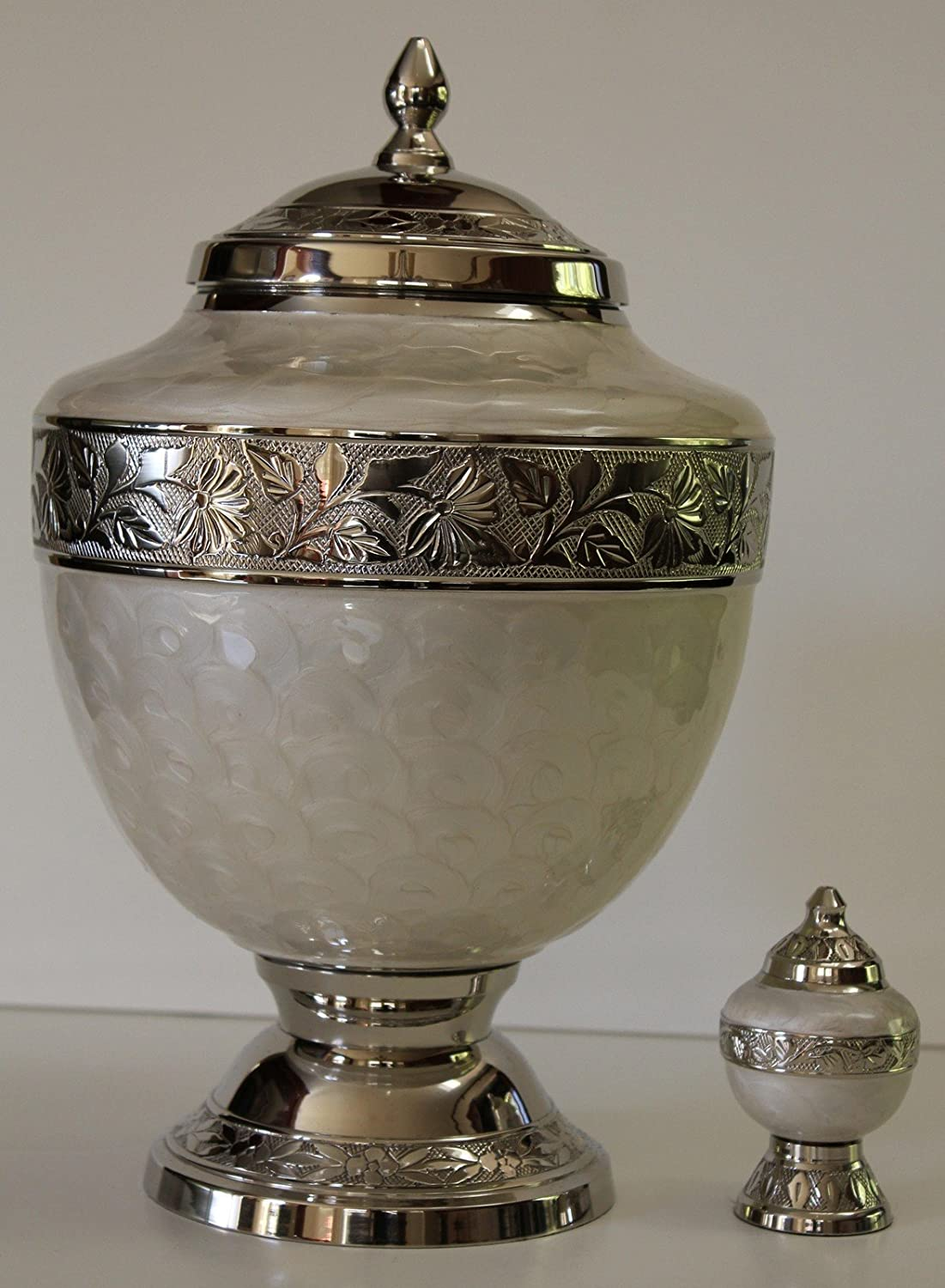 Cremation Urns, Adult Funeral Cremation Urn With Keepsake, Urn for Human Ashes NWA